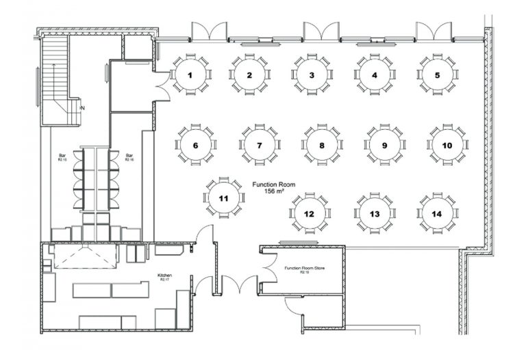 Function room plan